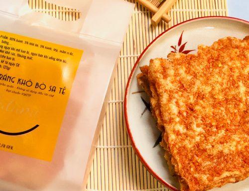 Bánh tráng nướng khô bò – Cực phẩm từ thương hiệu Datami!